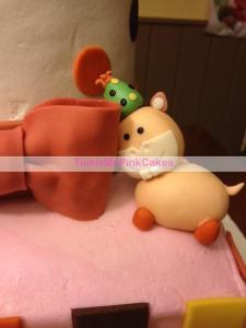 gumpaste hippo