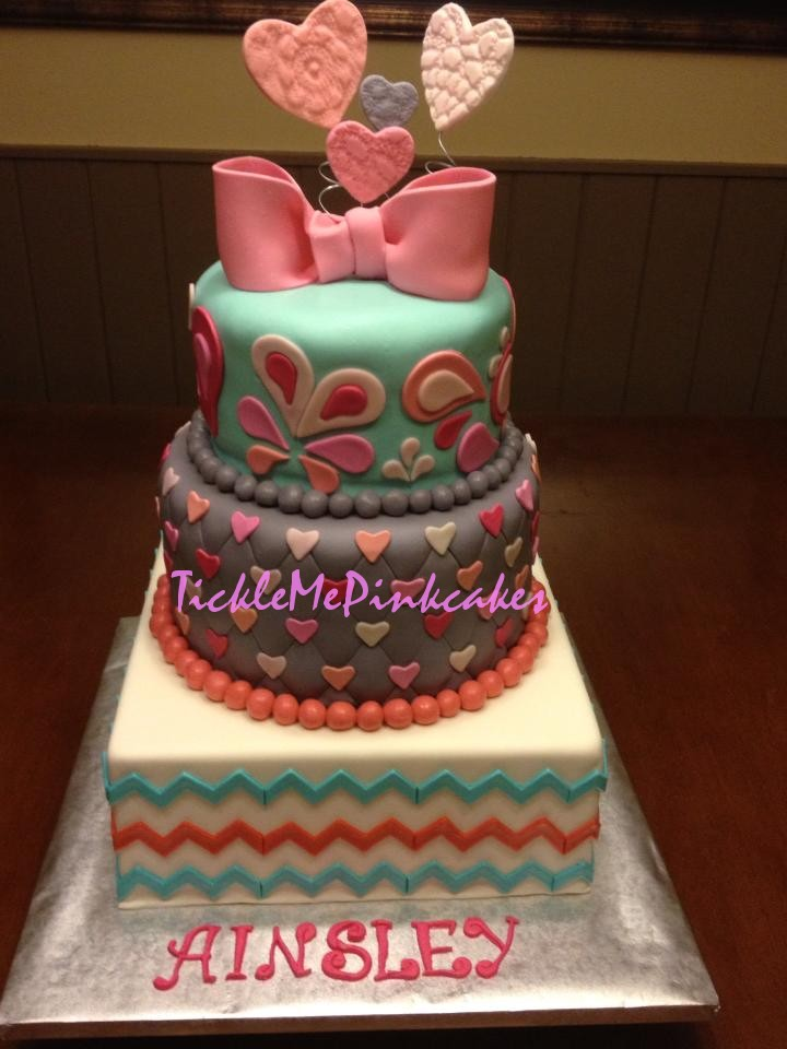 Tickle Me Pink Cakes Dig In
